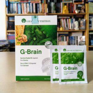 Công dụng Cốm trí não G-BRAIN